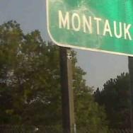 montauk sign